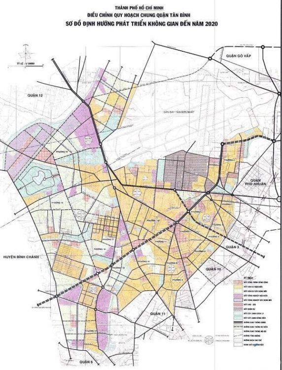 Quận Tân Bình có vị trí địa lý thuận lợi