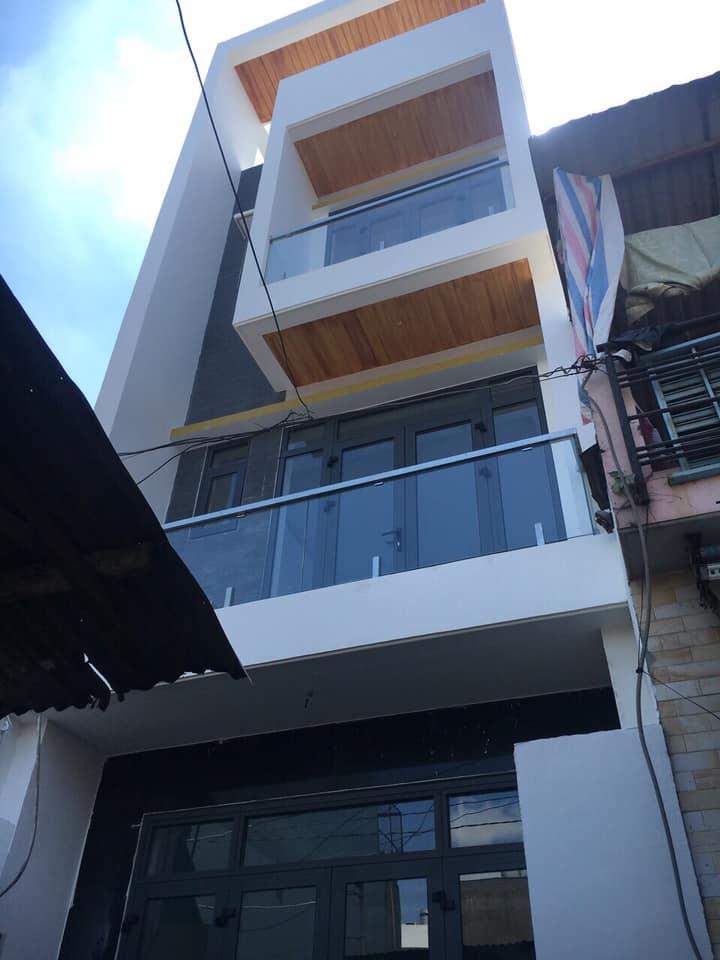 Chính chủ bán nhà 3 mặt tiền hẻm xe hơi Nghĩa Phát, P. 6, Tân Bình, giáp ranh quận 10