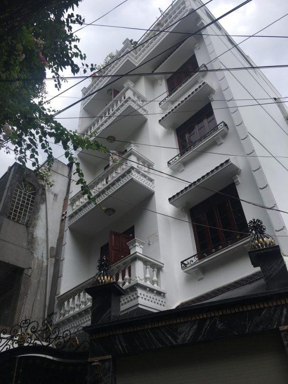 Nhà MT Nguyễn Thái Bình, p4, Q Tân Bình. 1 hần 4 t