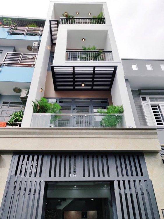 Bán nhà hẻm 78 Ba Vân, Phường 14, TB, 4,5x20m 4 tầng. Giá 17 tỷ