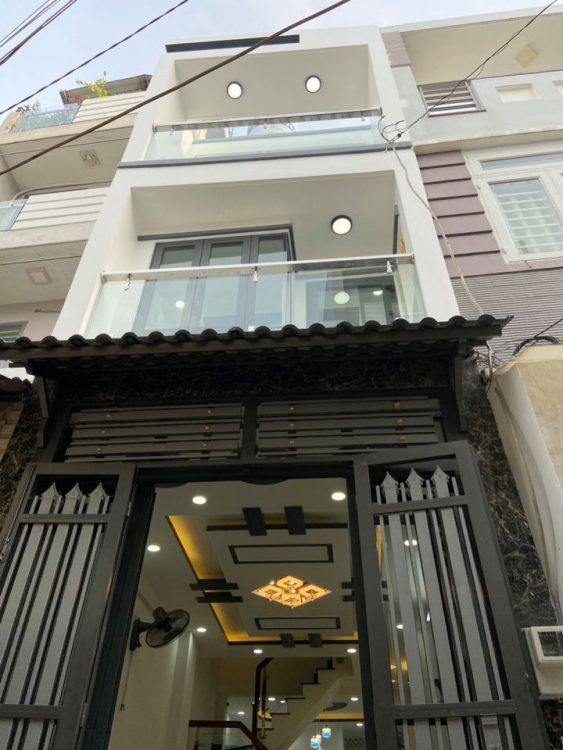 Mặt tiền nội bộ Năm Châu Bảy Hiền, nhà mới đẹp ở ngay trệt 3 lầu ST, 5.5 x 17m (96m2), 10 tỷ 9