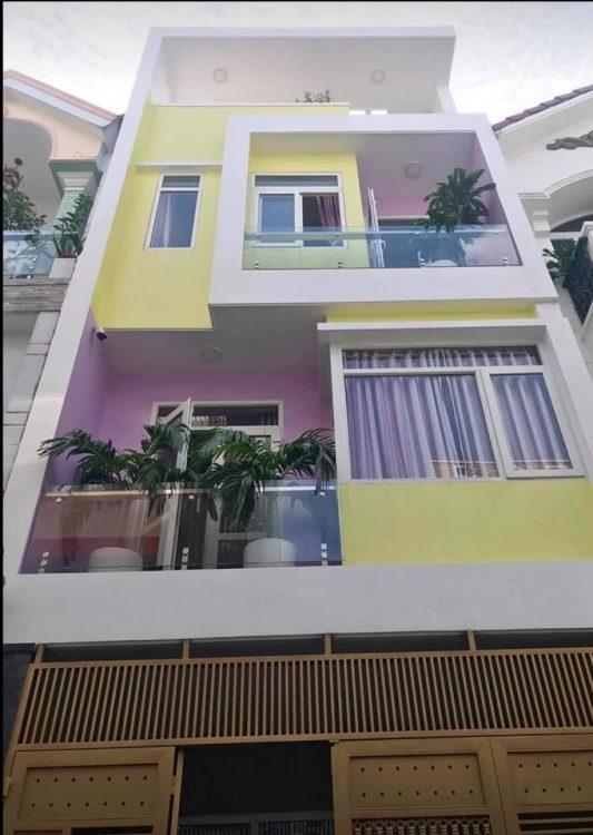 DT 80m2, 5*17, 3 tầng BTCT, Phạm Văn Hai, Tân Bình, gần chợ, HXT, nhỉnh 8 tỷ