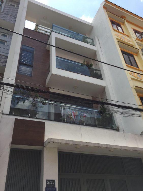 Bán nhà gấp giá 12 tỷ 5 (4 x 19.5m) nở hậu, mặt tiền đường Đất Thánh, phường 6, Tân Bình