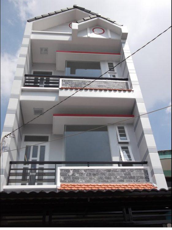 Nhà hẻm kinh doanh 8m Nguyễn Thái Bình Q. Tân Bình, DT 6m x 14m, trệt 3 lầu. Giá 12.8 tỷ