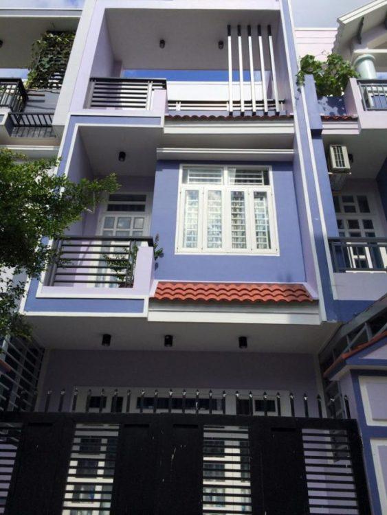 Nhà đẹp ở ngay! Bán nhà 4 tầng (DT 5x11m) đường Nguyễn Thái Bình, K300, P12, chỉ 7.8 tỷ
