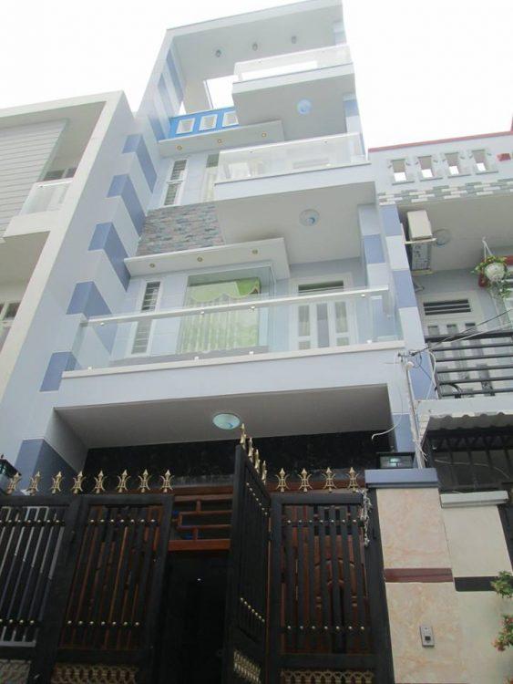 Bán nhà mặt tiền hẻm nhựa 7m Lê Văn Sỹ, DT: 7x12m, CN: 72m2, nhà 1 hầm + 1 lửng + 3 lầu cao cấp