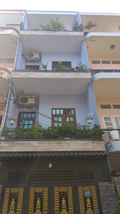 Nhà đẹp 5 tầng hiện đại HXH – Khu phân lô dân trí cao – Cách Mạng Tháng 8 – Tân Bình giáp Q3 và Q10