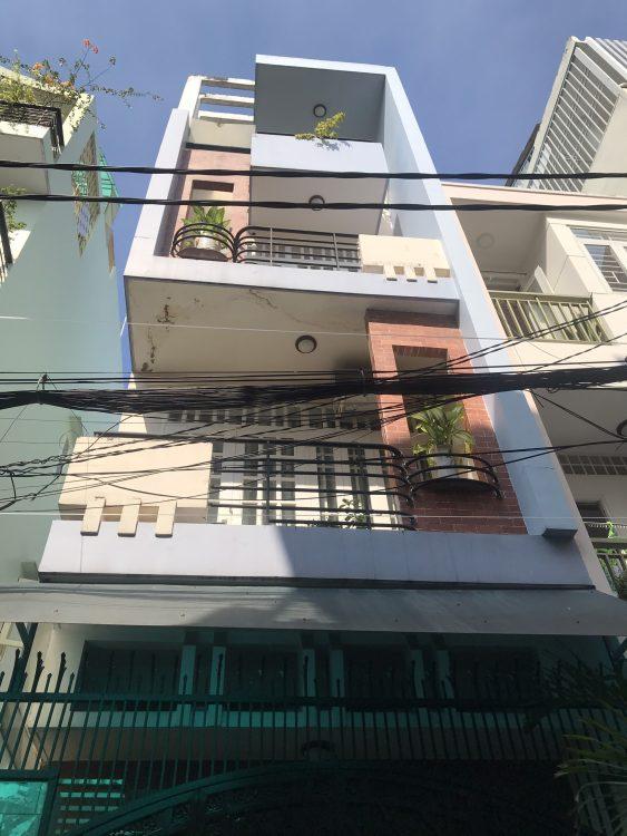 Bán nhà HXH đường Bành Văn Trân, P. 7, Q. TB, DT 5x20m (100m2) 1 trệt 3 lầu mới. Giá 11.4 tỷ TL