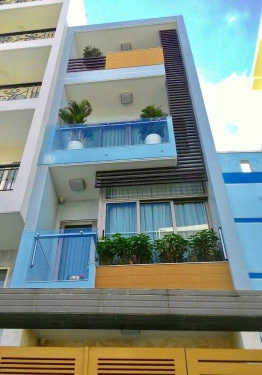 Bán nhà mặt phố Bàu Cát 1, P.14, Tân Bình; DT: 4 x 14m, trệt, 3 lầu, nhà còn mới. Giá 12,8 tỷ