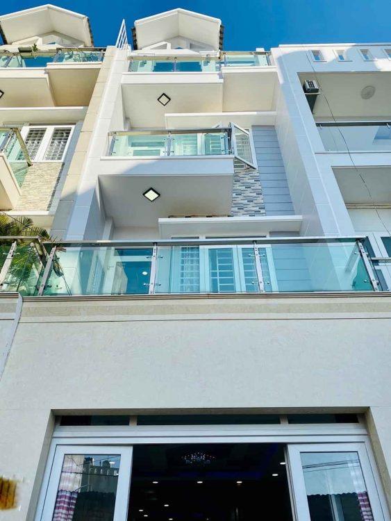 Nhà đẹp 5 tầng hẻm xe hơi thông đường Ba Vân, DT: 4.1 x 18m, khu vip an ninh. Giá sở hữu: 9.8 tỷ