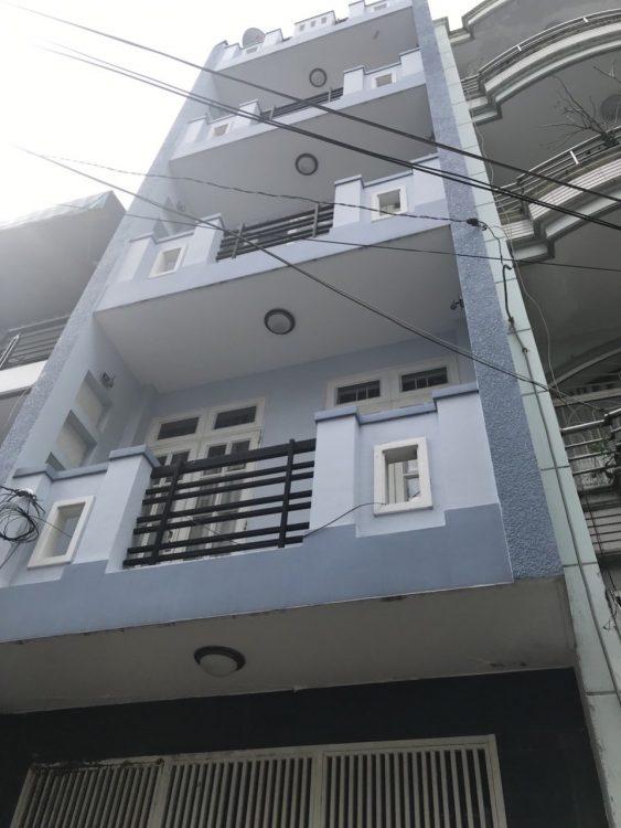 Bán nhà đẹp sang trọng 5 lầu (5.2x28m) giá 20 tỷ đường Bành Văn Trân khu trung tâm P. 7, Tân Bình