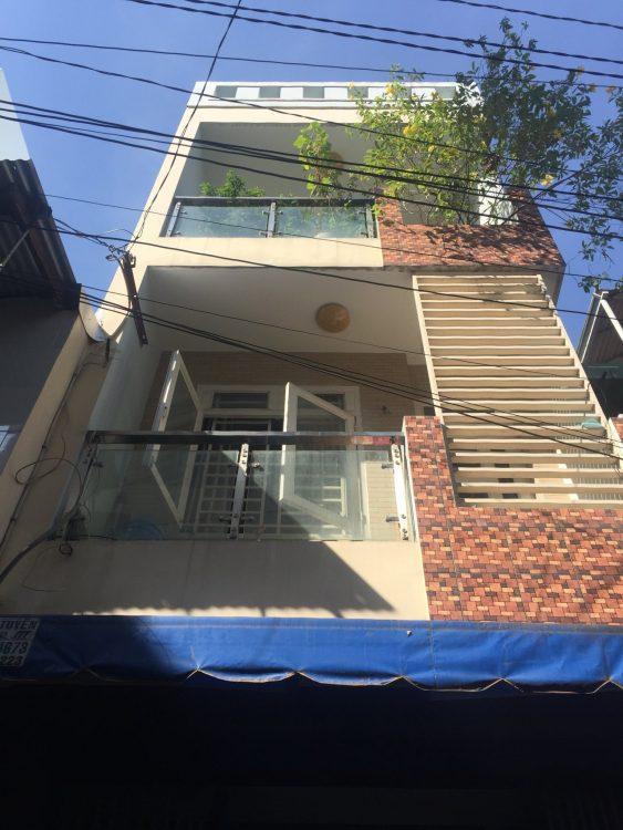 Bán nhà hẻm nhựa đường Trần Mai Ninh, P. 12, Q. Tân Bình. DT 4.1m x 14m2 58m2 2 lầu chỉ 6 tỷ