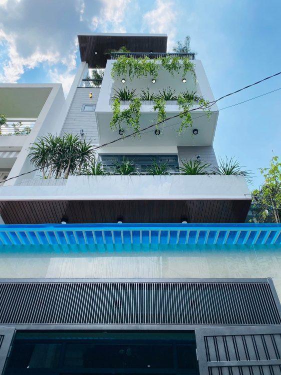 Bán nhà 1 hầm 4 lầu phường 14 Tân Bình, DT 4.5x20m đường Ba Vân, Trương Công Định, chỉ 10.8 tỷ