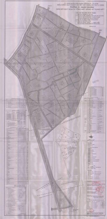 Bản đồ quy hoạch Phường 15