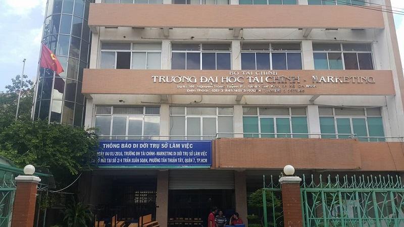 Trường ĐH Tài chính - Marketing cơ sở Tân Bình
