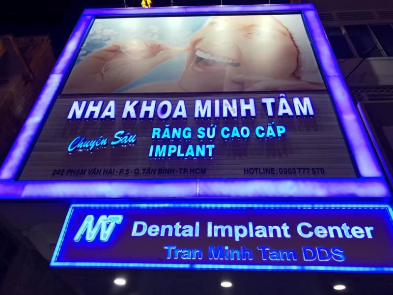 Nha khoa Minh Tâm, quận Tân Bình