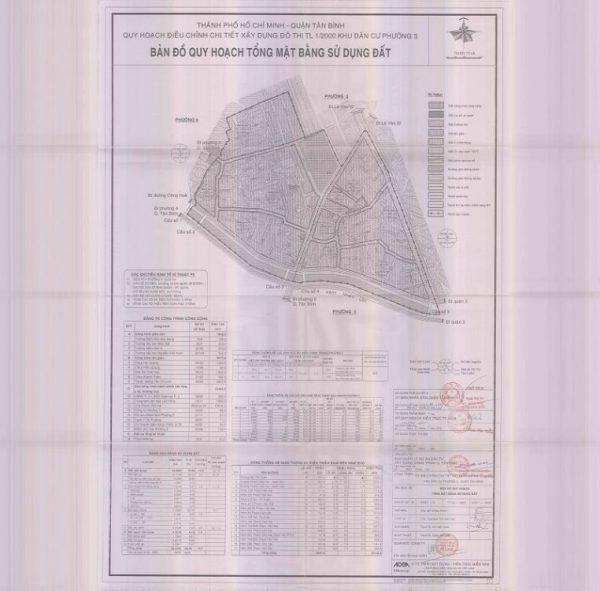Bản đồ quy hoạch Phường 3
