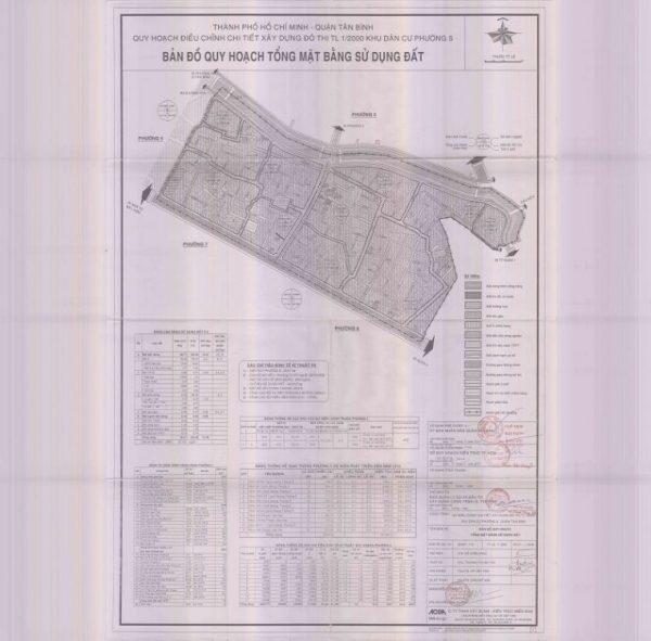 Bản đồ quy hoạch Phường 5