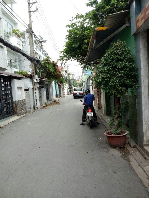 Bán nhà, HXT, 2 mặt tiền, 4,6x12m, (6,8 tỷ) hai mặt tiền, Trần Văn Dư, khu, k200, Phường 13, Tân Bình .