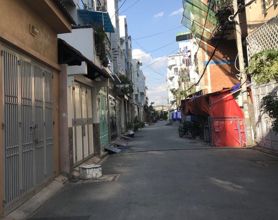 Bán nhà đường Ni Sư Huỳnh Liên 4.5×15 trệt 2 lầu sân thượng, nhà mới, 8,7 tỷ.