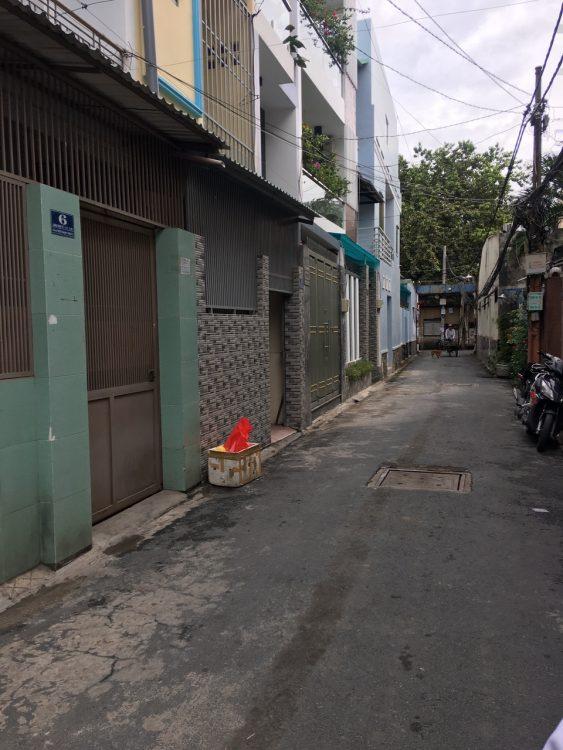 Nhà bán HXH 4×12, trệt 3 lầu, Nhất Chi Mai, P 13, Tân Bình (8,7 tỷ)