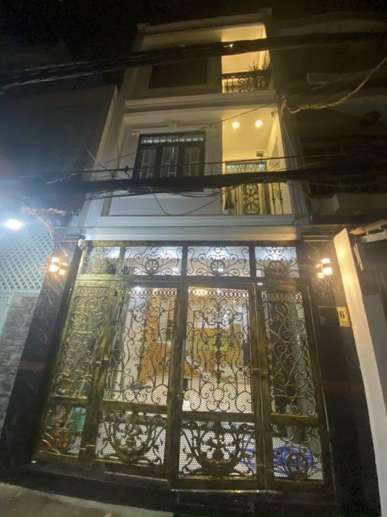 Nhà bán đường Bùi Thế Mỹ 58.5m2, (7.6) tỷ, 1 trệt 2 lầu ST P10 Tân Bình.