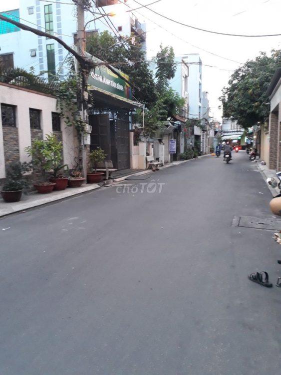 Hẻm 6m Đồng Xoài thông Bình Giã, P13, Tân Bình, nhà 4 tầng ST xây chắc chắn đẹp kiên cố